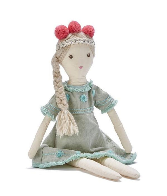 Nana Huchy - Little Miss Minty Doll - green