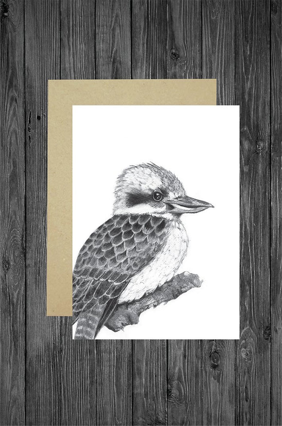 Cathy Hamilton Artworks - Kookaburra Card