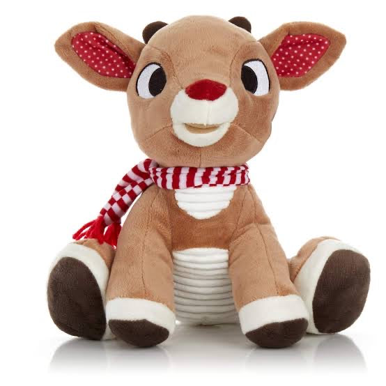 Rudolph The Red Nose Reindeer Plush Toy