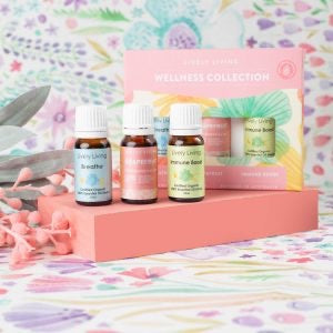 Lively Living - Essential Oil Wellness Collection Trio Kit