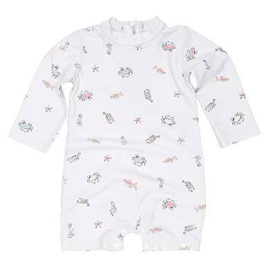 Toshi - Swim Onesie Long Sleeve - Rock Pool