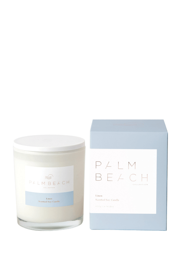 Palm Beach Linen Standard Candle
