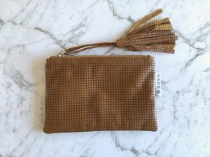 Bare Leather - Shelby Coin Purse -Tan
