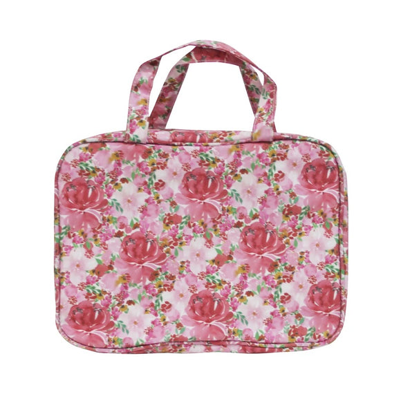 Tonic - Hanging Cosmetic Bag - Flourish Pinks