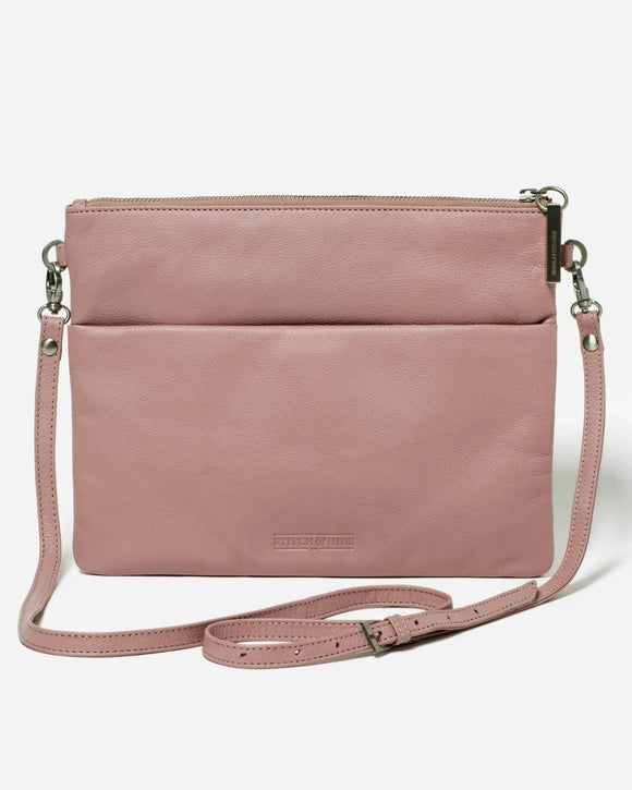 Stitch and Hide - Juliette Bag - Dusty Rose