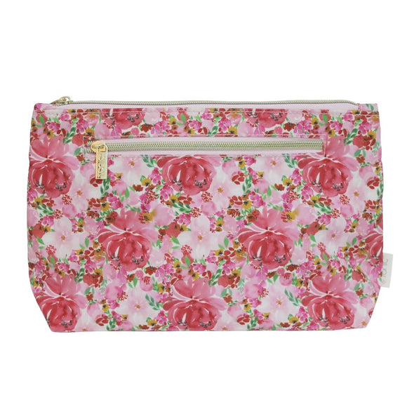 Tonic - Large Cosmetic Bag - Flourish Pinks
