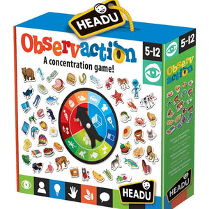 Headu - Observaction - A Concentration Game