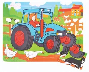 Big Jigs Puzzle - Tractor - 9 Piece