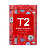 T2 Tea : Loose Leaf Black Tea Icon Tin 100g - English Breakfast