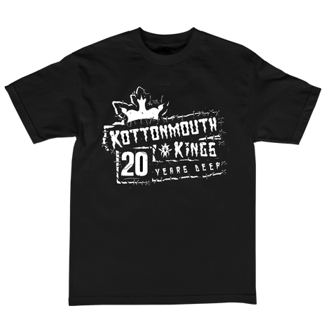 20 Year Punk Rock Tee (Black)