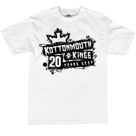 20 Year Punk Rock Tee (White)