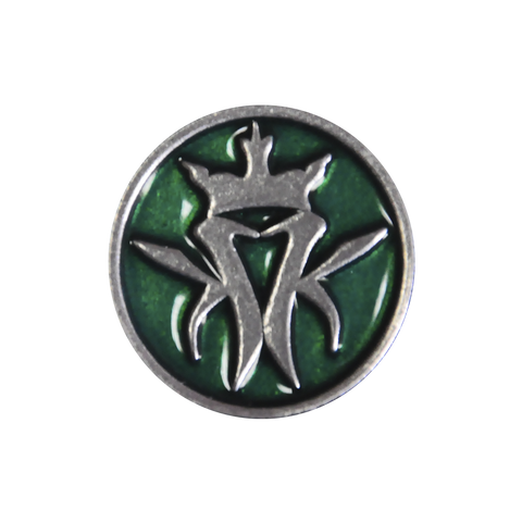 Green Lapel Pin