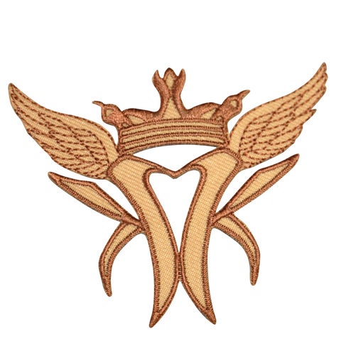 Winged Patch (Tan)