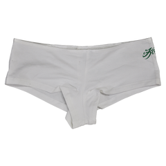 Booty Shorts (White/Green)