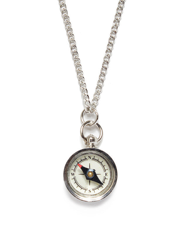 SILVER MINI COMPASS - SOVAJ - 1