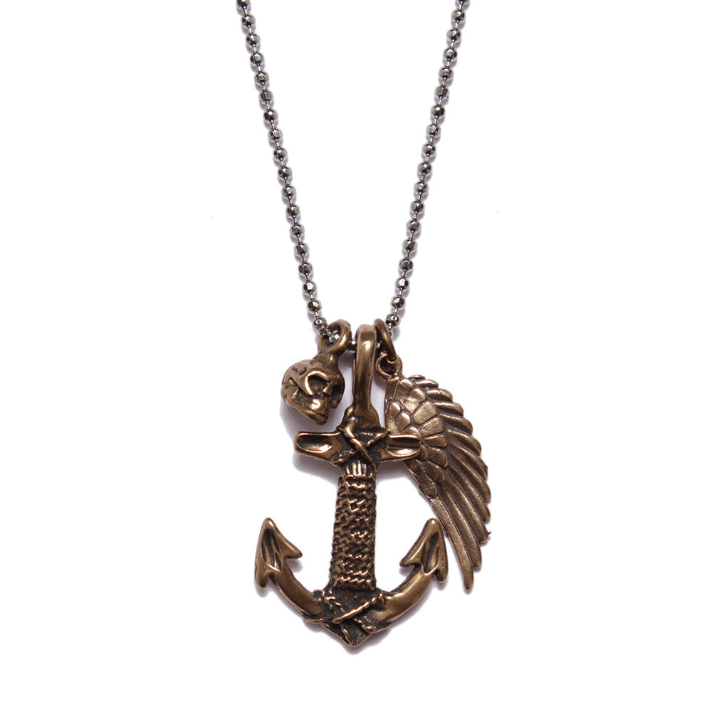 COURAGE NECKLACE - SOVAJ - 1
