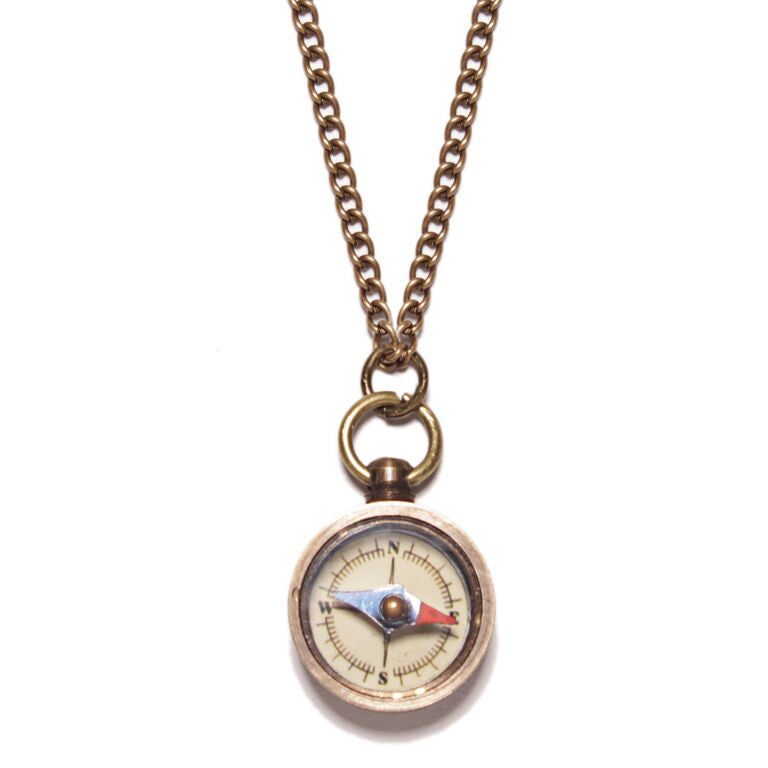 WHITE MINI COMPASS - SOVAJ - 1