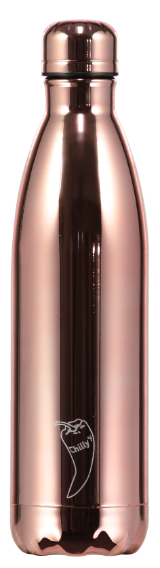 Metal Rose Gold Chilly Bottle