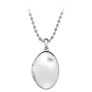 Memoirs Oval Locket Pendant