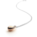 Mirage Short Drop Pendant Rose Gold Plated