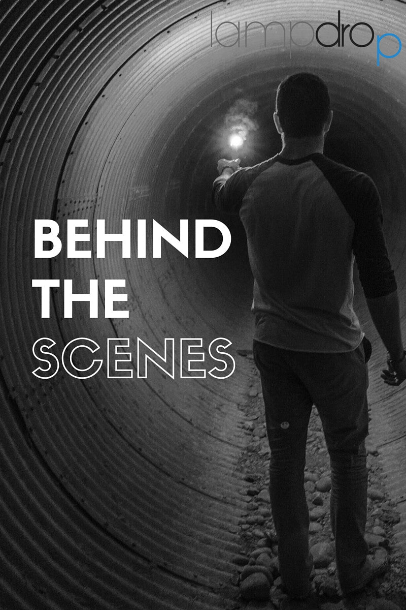 Behind the scenes | lampdrop