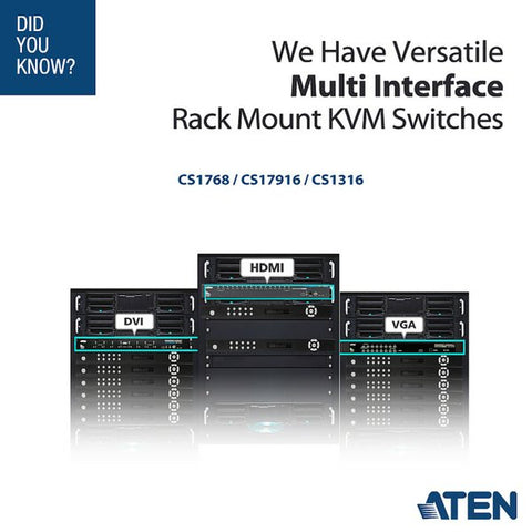 Aten Rack KVM Switches