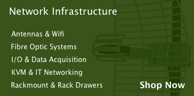 Network and infrastructure, including Antennas and Fibre Optic Systems