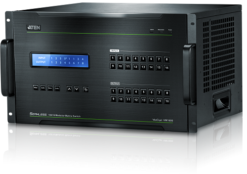 VM1600 Modular Matrix Switch from ATEN