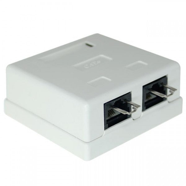 CAT6 Shielded Surface Mount Box with Lock