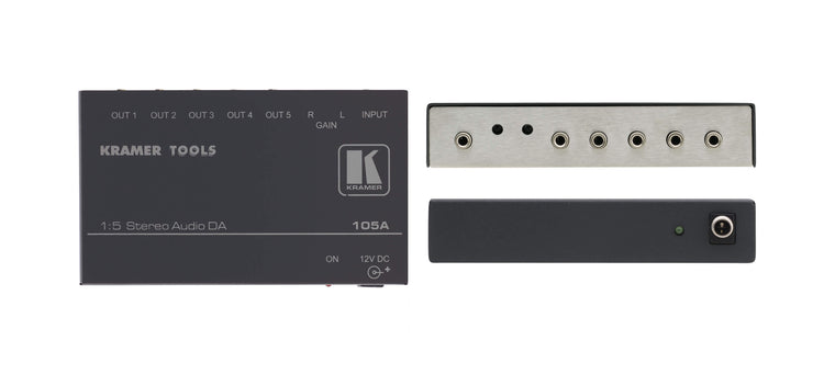 105A  1:5 Stereo Audio Distribution Amplifier