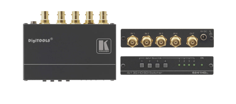 6241HDxl  4x1 3G HD–SDI Switcher