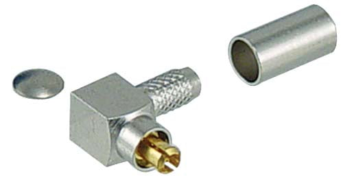 AMCM-1102  Connector, MC CARD Male CRIMP LMR100