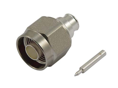 ANM-1P100 - Type-N Male Solder Type Low PIM Connector for RG401