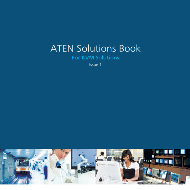 ATEN Solutions Book for KVM Solutions Issue 1