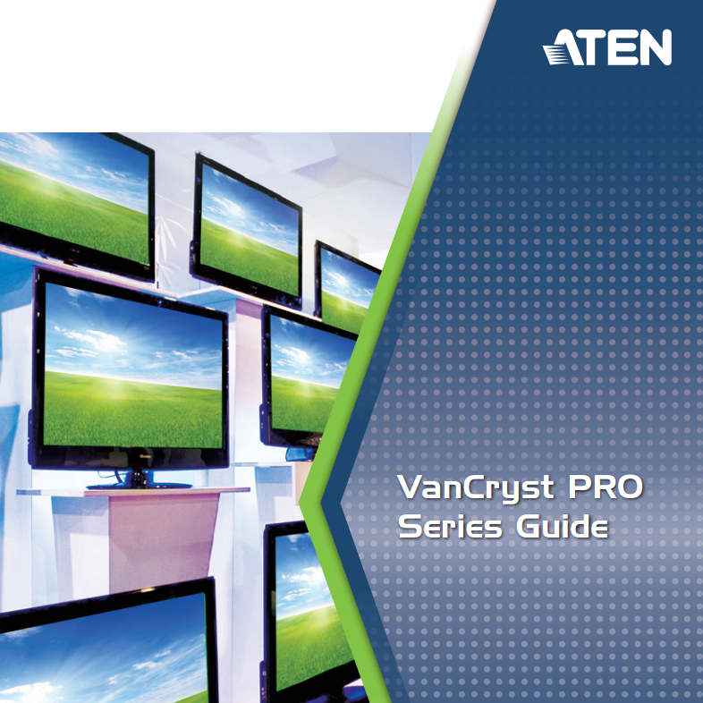 ATEN Van Cryst PRO Series Guide 2013