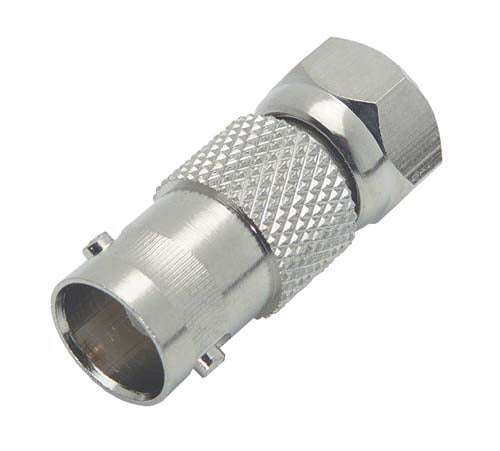 BA037  Coaxial Adapter, F Male / 75 Ohm BNC Female
