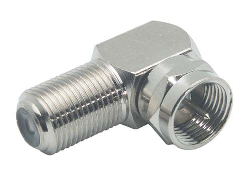 Adapter Female F/F Male Right Angle BA123