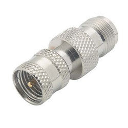 Coaxial Adapter, Mini-UHF Male / TNC Female BA886