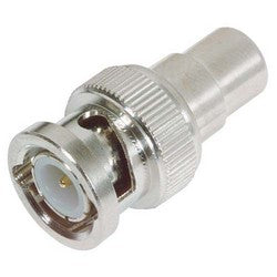 Coaxial Adapter, RCA Female / BNC Male 50 Ohm BA95