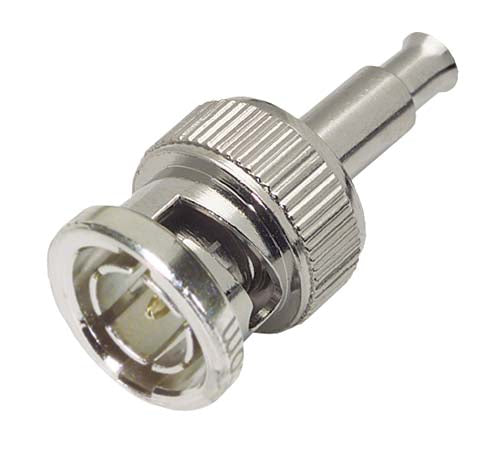 75 Ohm BNC Crimp Plug for RG187 and CTL Cable