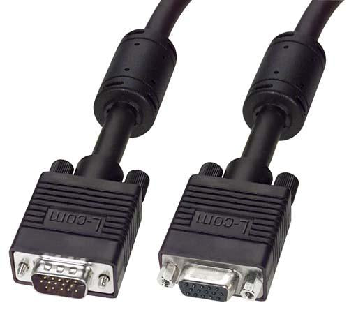 CTLF3VGAMF-1 L-Com Audio Video Cable