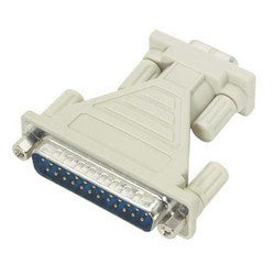 Molded AT Adapter, High Profile, DB25 Male / DB9 Female DG259MF-IBM