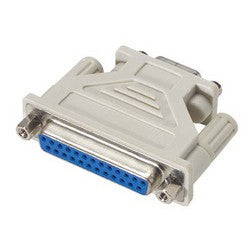 Molded AT Adapter, Low Profile, DB25 Female / DB9 Female DGL259FF-IBM