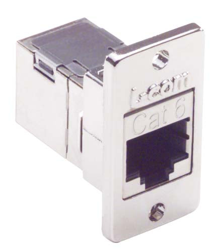 ECF504-SC6  CAT 6 SHLD RJ45 Panel Coupler Kit