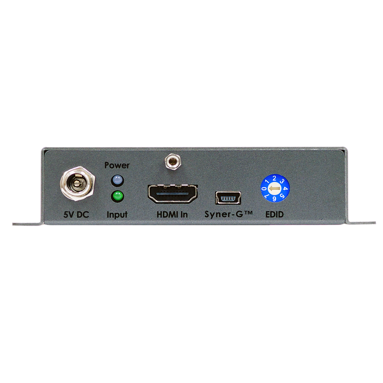 4K Ultra HD 600 MHz 1:2 Scaler w/ EDID Detective and Audio De-Embedder