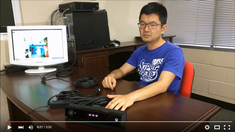 How to extend Kinect for Xbox One (Kinect v2) - Newnex Video