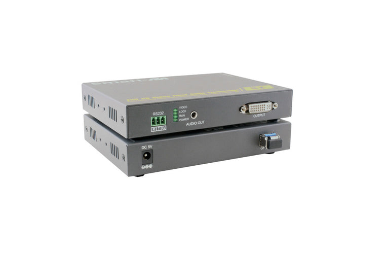1080p HD DVI-D Fiber Optic Extender