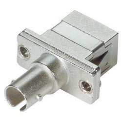 Fiber Adapter, ST / SC (Rectangular Mounting), Bronze Alignment Sleeve FOA-211