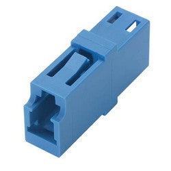 Fiber Coupler, LC/LC Simplex Ceramic Sleeve , Low Profile, No Flange FOA-500A