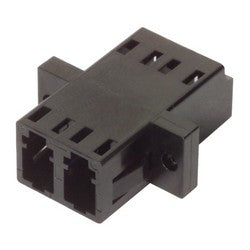 Fiber Coupler, LC/LC Duplex Ceramic Sleeve, Low Profile FOA-801